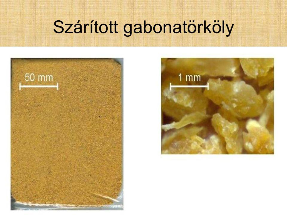 Szárított gabonatörköly