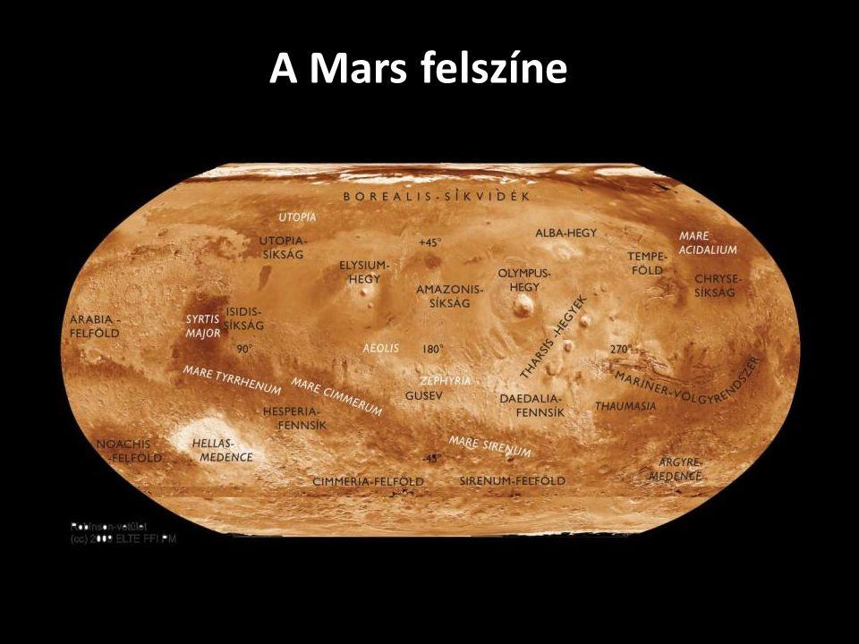Felszíni alakzatok - Olympus Mons Dr.