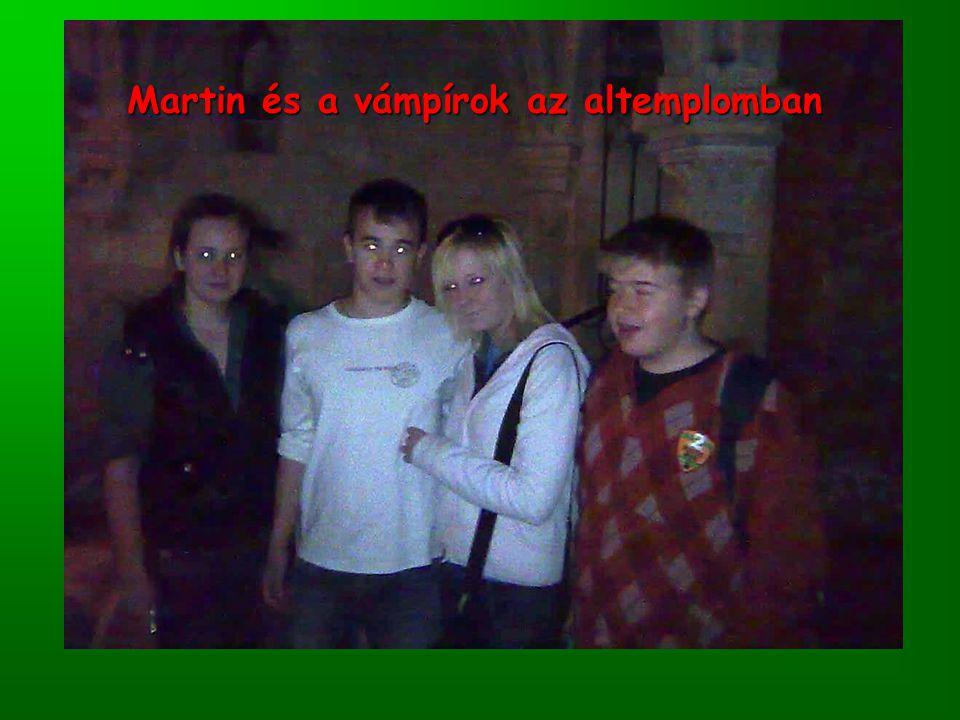 Martin és a vámpírok az altemplomban