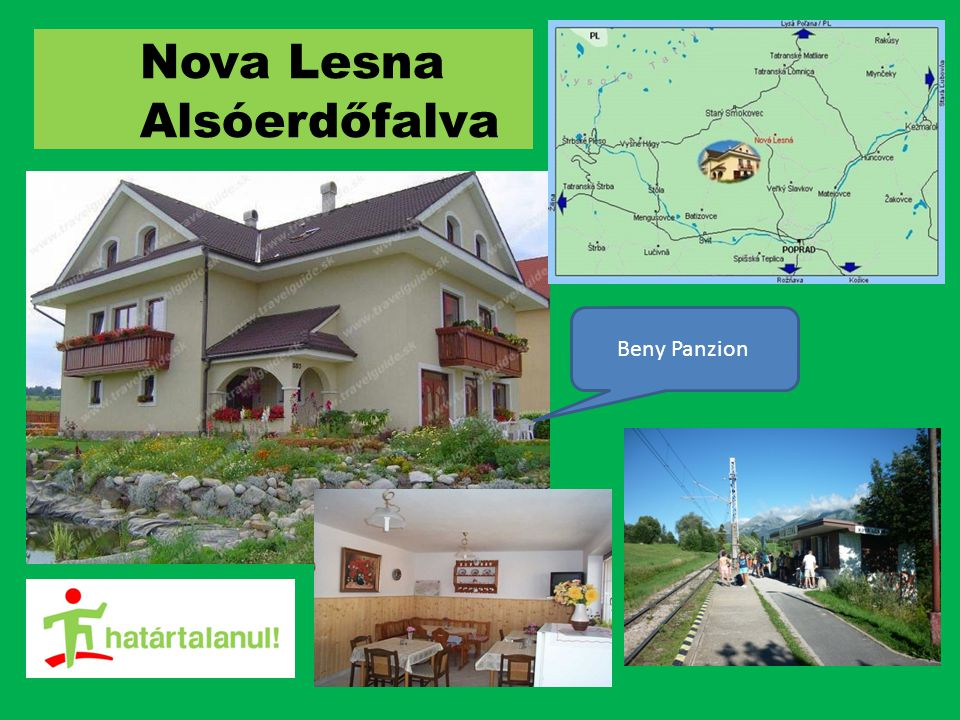 Nova Lesna Alsóerdőfalva Beny Panzion