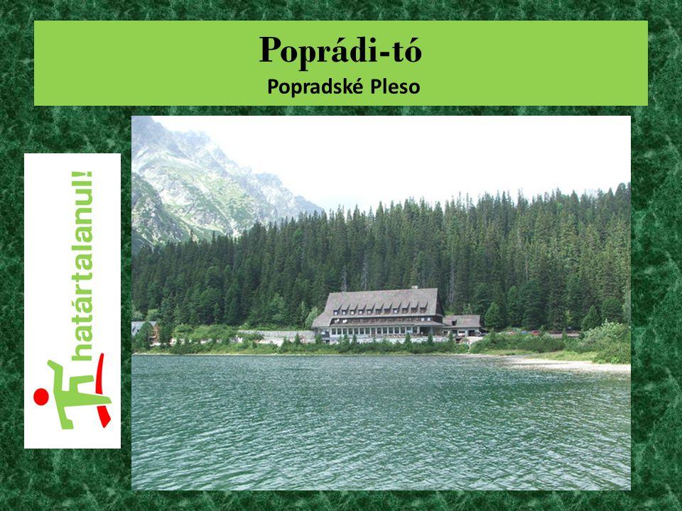 Poprádi-tó Popradské Pleso