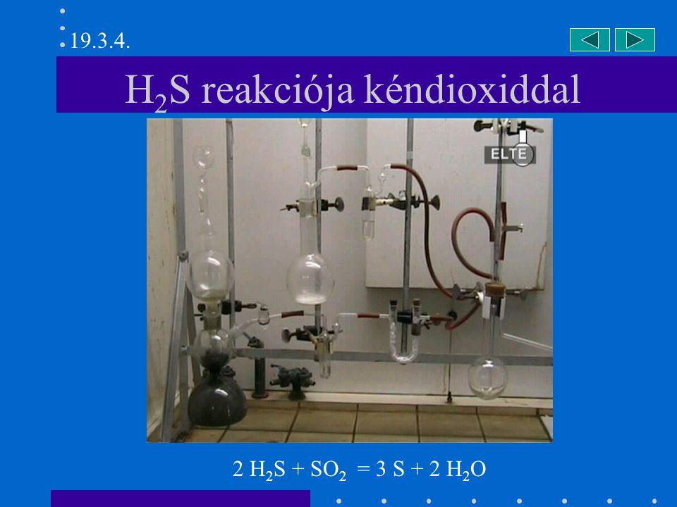 Nátrium-szulfit előállítása NaOH + SO 2 = NaHSO 3 NaHSO 3 + NaOH + 6 H 2 O = Na 2 SO 3 ·7H 2 O 19.3.6.