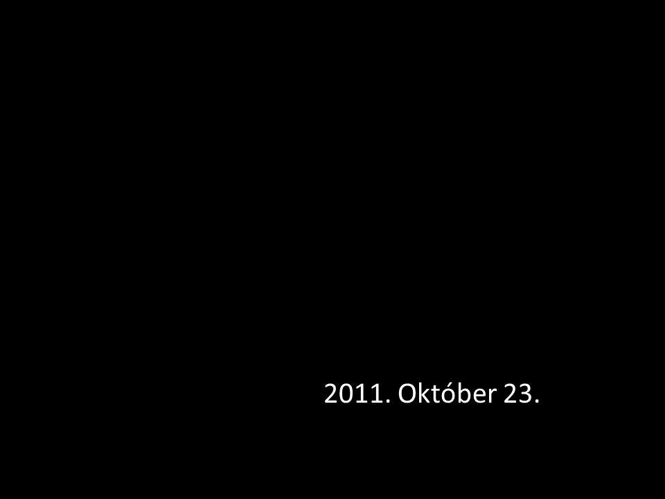 2011. Október 23.
