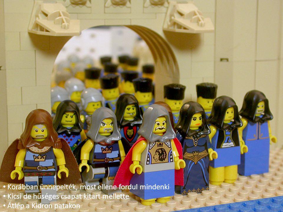 Korábban ünnepelték, most ellene fordul mindenki Kicsi de hűséges csapat kitart mellette Átlép a Kidron patakon