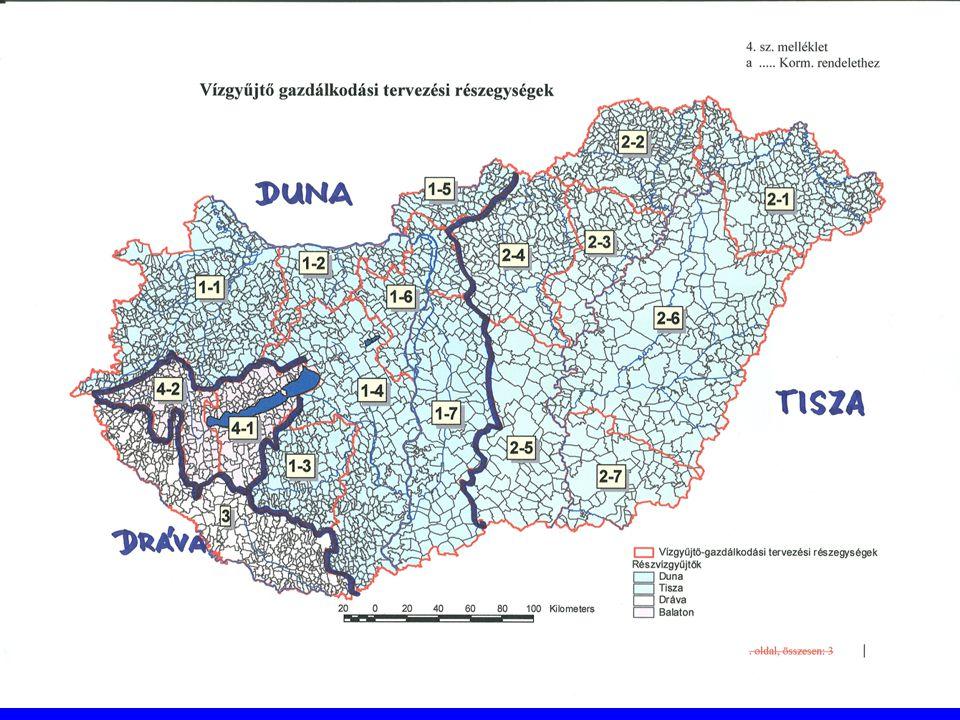 Sürgősen elvégzendő feladatok Terhelések és hatásaik elemzése Gazdasági elemzések Határidő: az egész ország területére 2004.