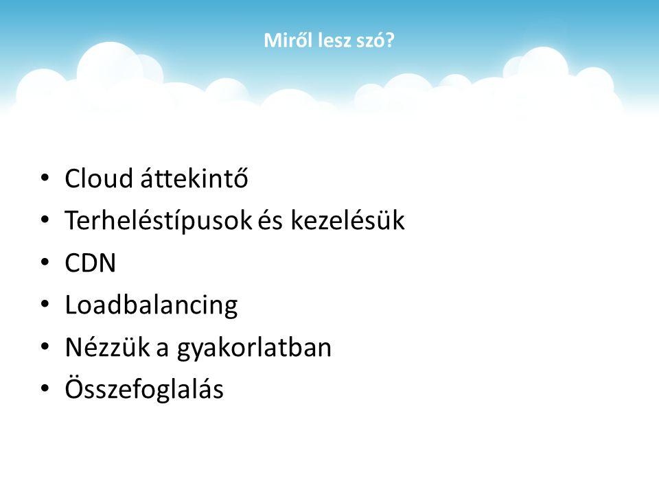 Cloud áttekintő
