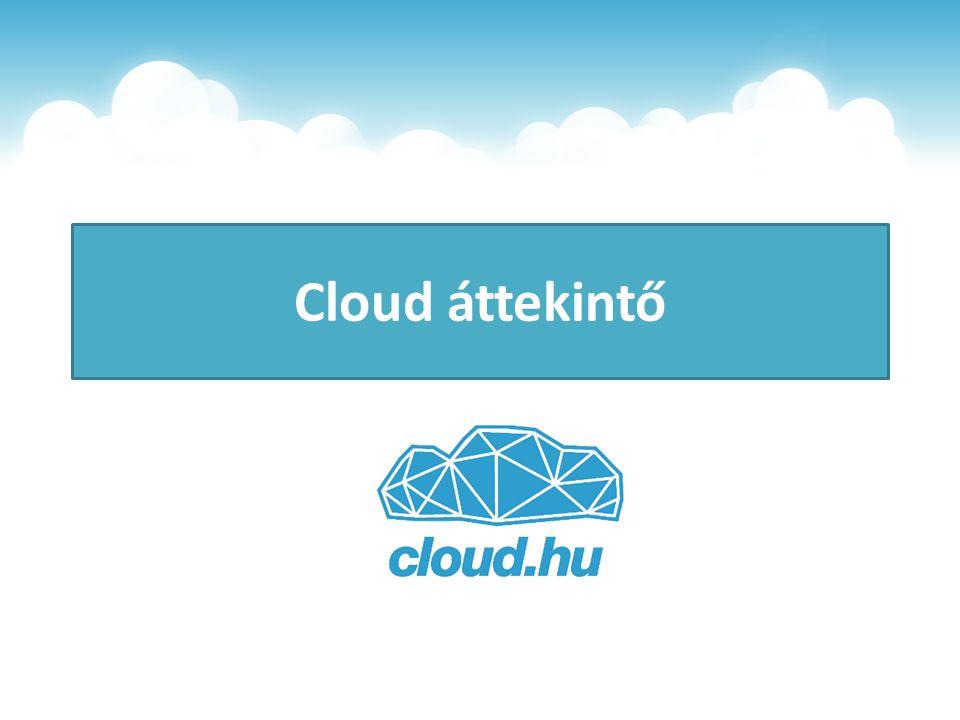 Felhők osztályozása hozzáférés szerint Publikus Szabadon hozzáférhető, sok felhasználó Privát Egyetlen szervezetet szolgál ki Hybrid Privát + Publikus kombinációja Átjárhatóság a kettő között