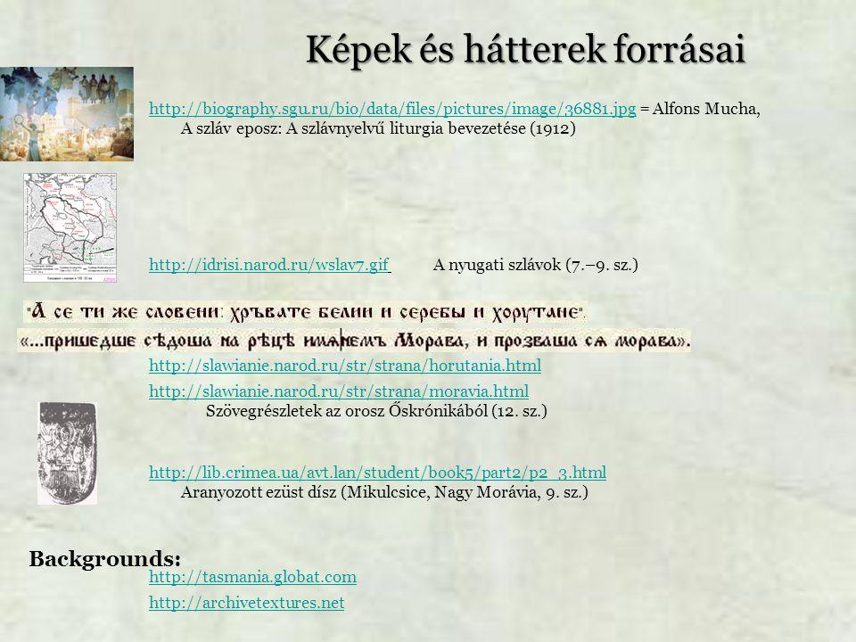 Képek és hátterek forrásai http://biography.sgu.ru/bio/data/files/pictures/image/36881.jpghttp://biography.sgu.ru/bio/data/files/pictures/image/36881.