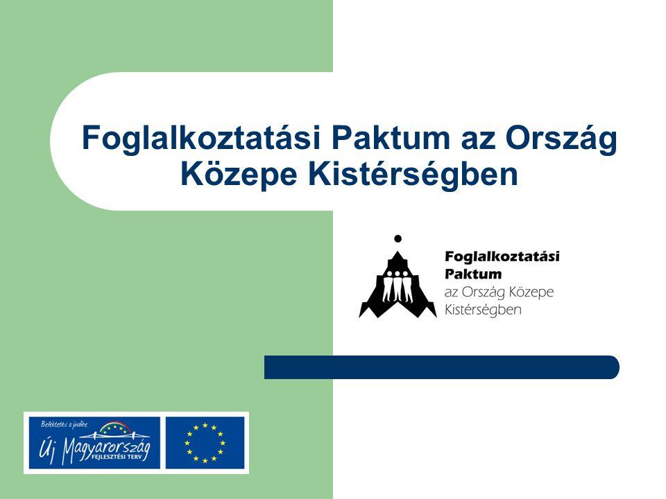 Foglalkoztatási Paktum az Ország Közepe Kistérségben