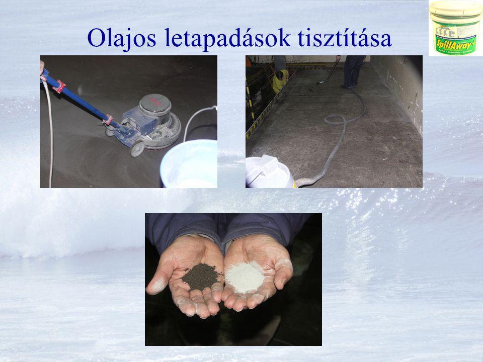 Környezeti károk mentesítése Felületi és mélyen beívódott talajszennyeződés felszámolása (in situ) Szennyezett talajvíz tisztítása (in situ) Nyílt vizek és tározók tisztítása Havaria események rendkívül gyors felszámolása, Azonnali mentesítés