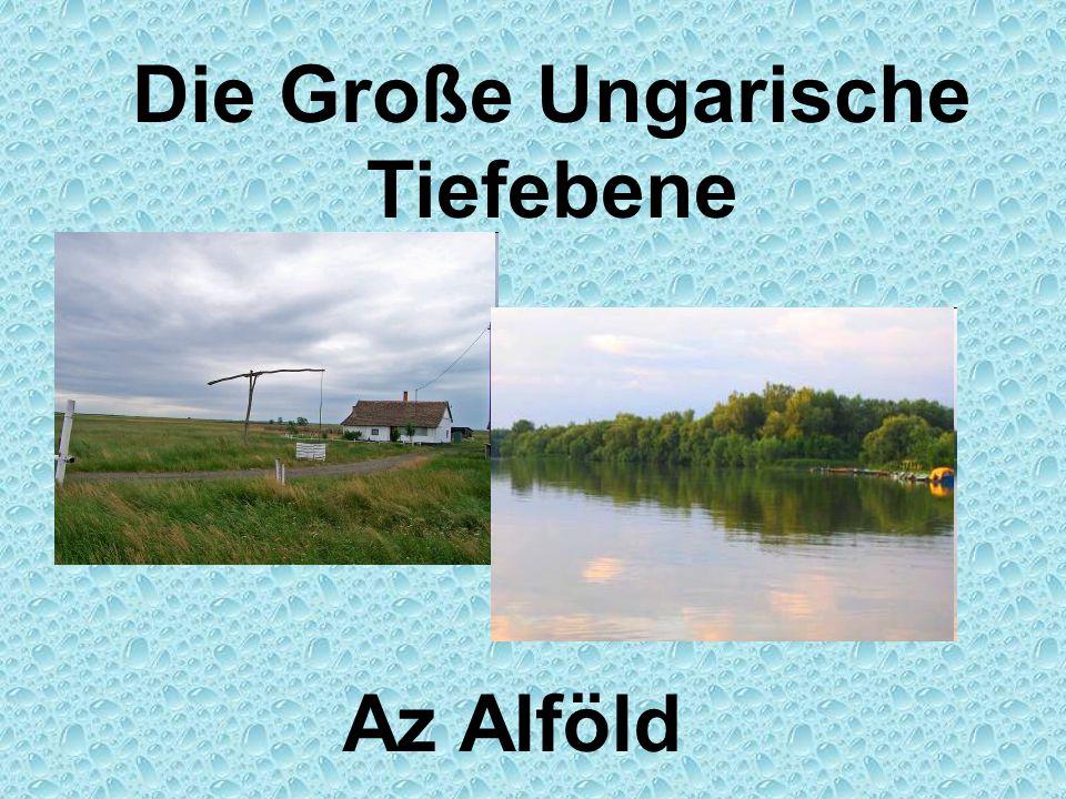 Die Große Ungarische Tiefebene Az Alföld