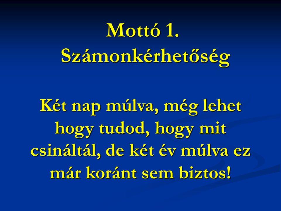 Mottó 2.