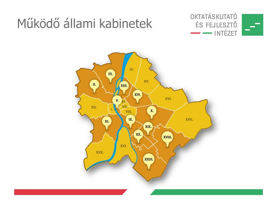 Működő állami kabinetek