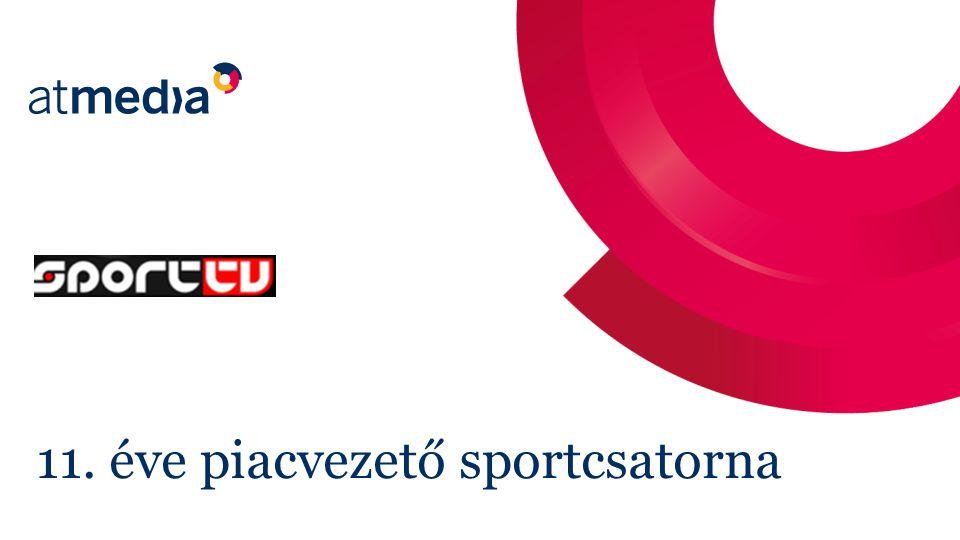 Sport Tv pozíciója - 2012 2 Széles sportági programkínálatával piacvezető a sportcsatornák között.