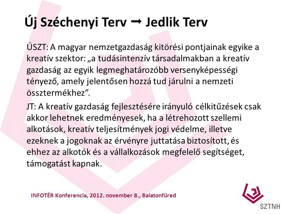 """Új Széchenyi Terv  Jedlik Terv ÚSZT: A magyar nemzetgazdaság kitörési pontjainak egyike a kreatív szektor: """"a tudásintenzív társadalmakban a kreatív"""