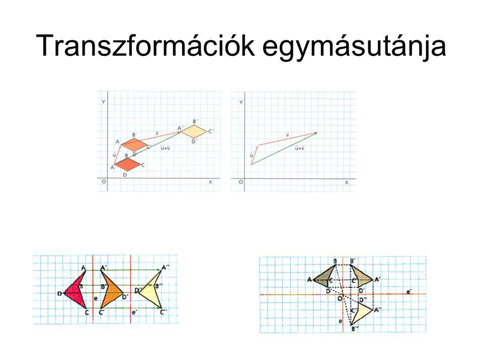 Transzformációk egymásutánja
