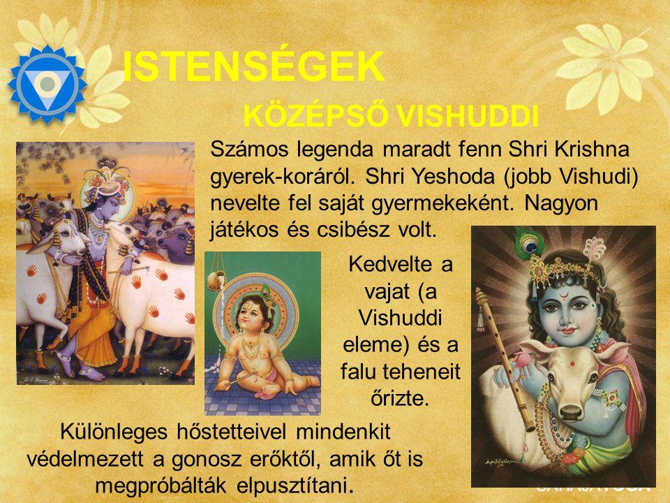 SAHAJAYOGA ISTENSÉGEK KÖZÉPSŐ VISHUDDI Shri Ráma – aki a mariádákat adta nekünk - után Shri Vishnu mint Shri Krishna (megközelítőleg 6000 évvel ezelőt