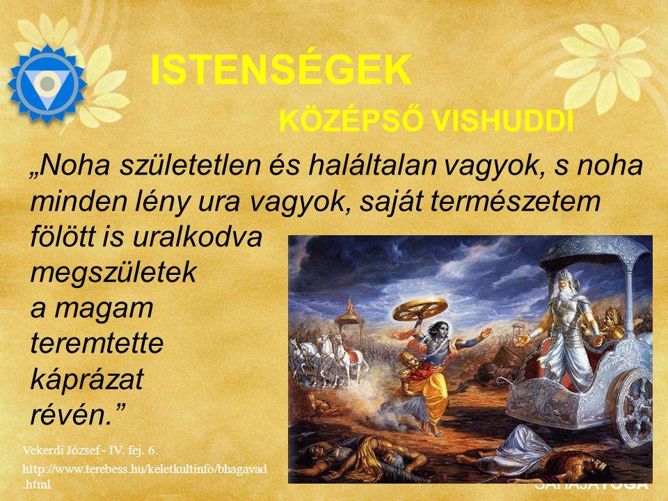 """SAHAJAYOGA ISTENSÉGEK Shri Krishna a csatatéren válaszolt Arjuna – a kiváló harcos - spirituális kérdéseire, melyet a Bhagavad Gita (""""Isteni Ének"""") ör"""