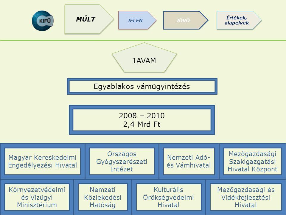 1AVAM Egyablakos vámügyintézés Kulturális Örökségvédelmi Hivatal Nemzeti Adó- és Vámhivatal Magyar Kereskedelmi Engedélyezési Hivatal Környezetvédelmi