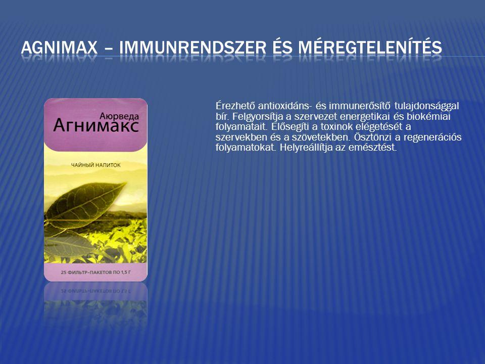 Érezhető antioxidáns- és immunerősítő tulajdonsággal bír.