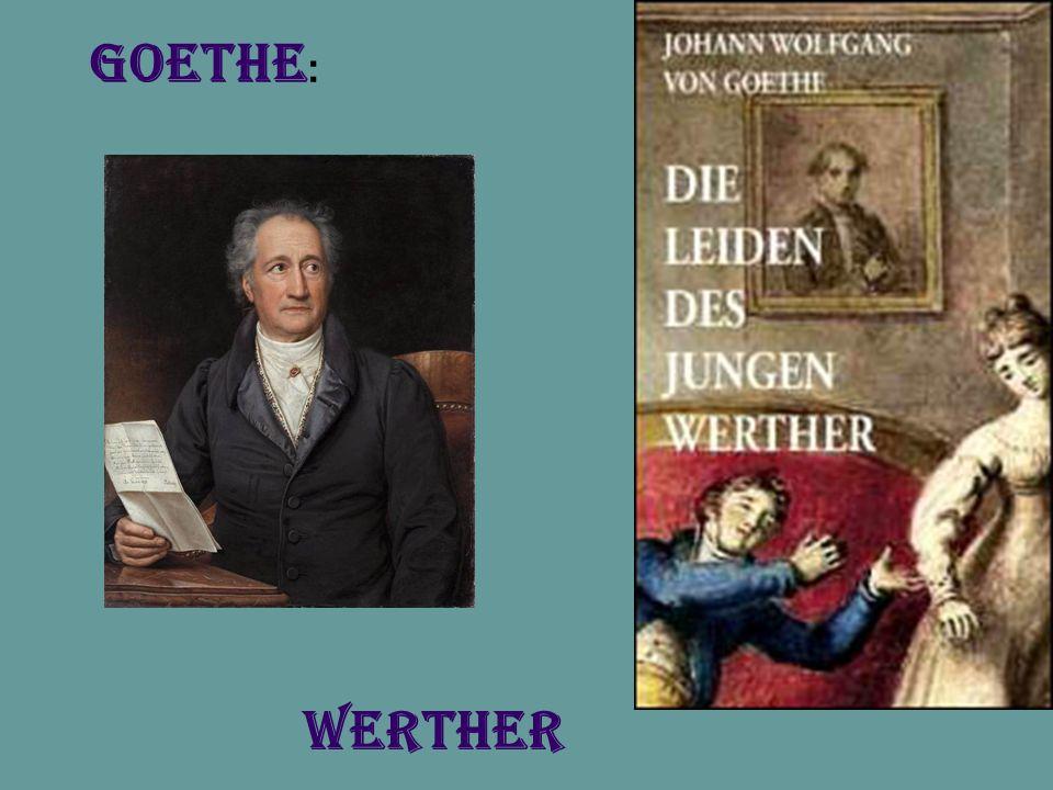 Werther Goethe :