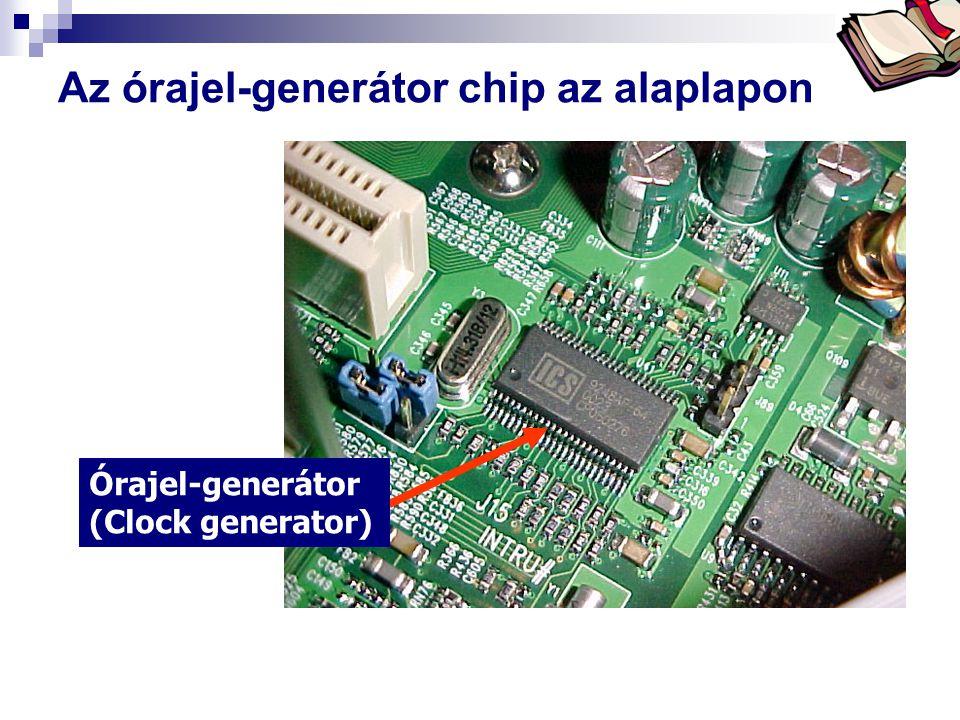 Bóta Laca Az órajel-generátor chip az alaplapon Órajel-generátor (Clock generator)