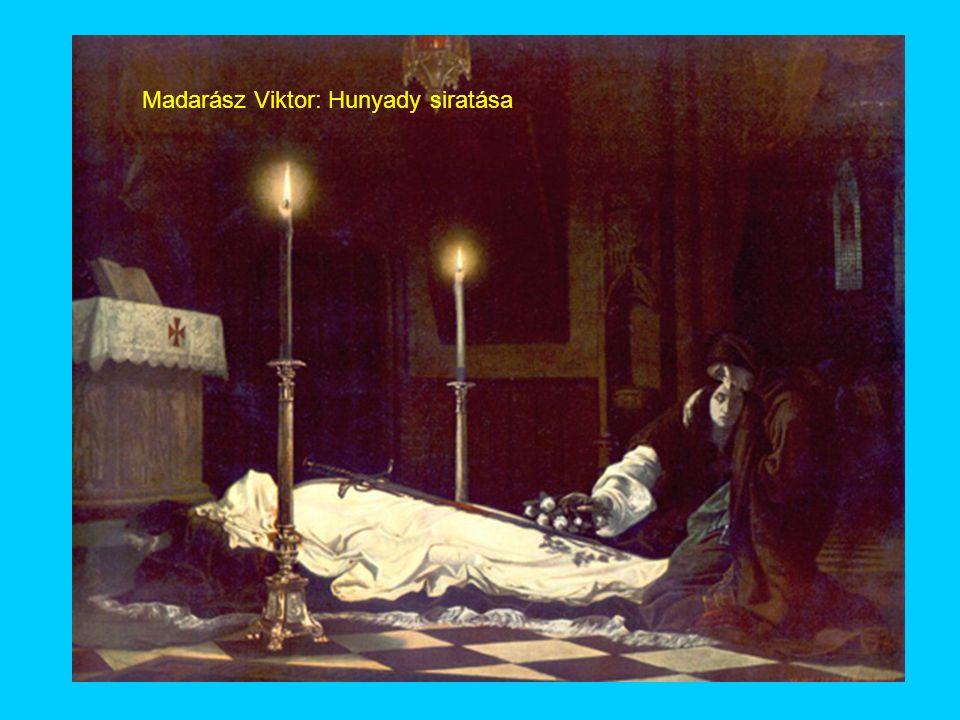 Madarász Viktor: Hunyady siratása