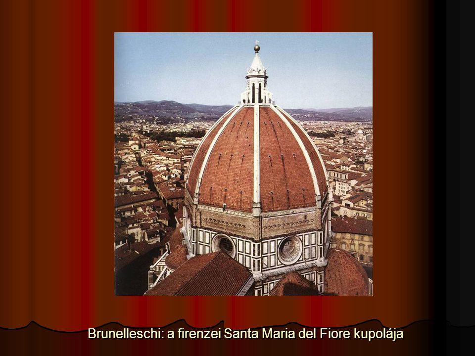 Brunelleschi: a firenzei Santa Maria del Fiore kupolája Brunelleschi: a firenzei Santa Maria del Fiore kupolája