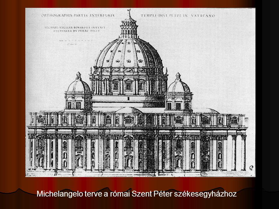 Michelangelo terve a római Szent Péter székesegyházhoz