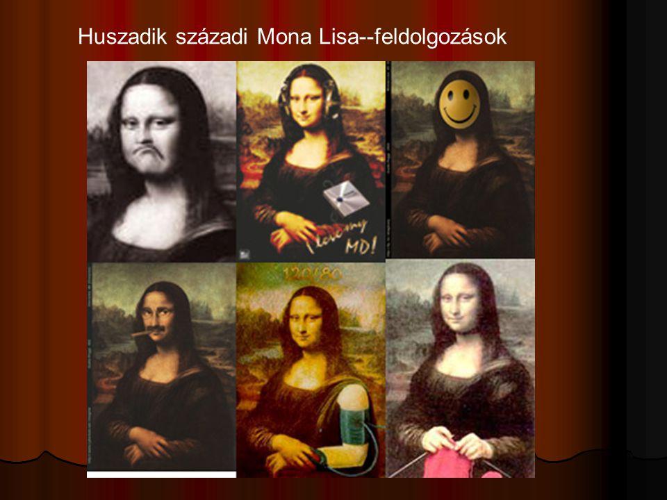 Huszadik századi Mona Lisa--feldolgozások