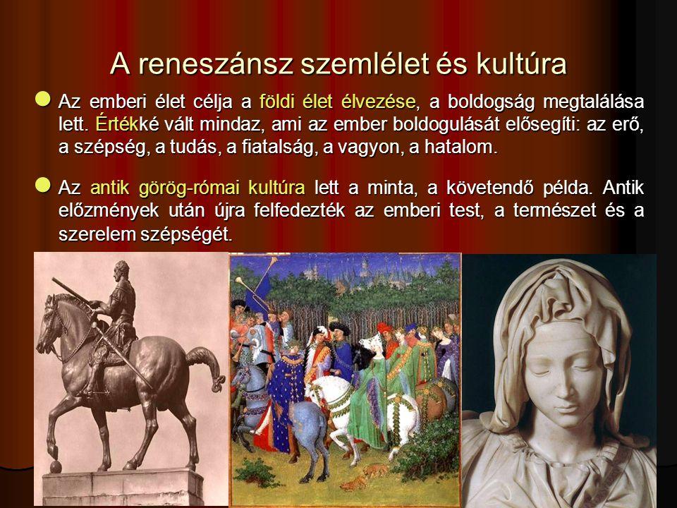A reneszánsszal gyakran együtt emlegetett fogalom a humanizmus.