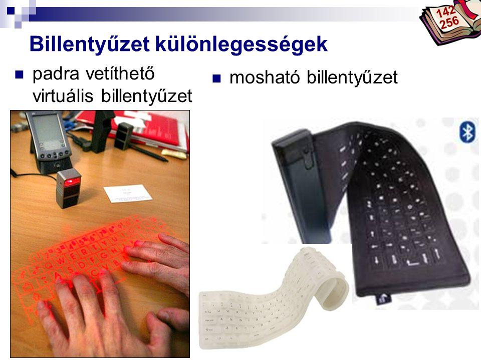 Bóta Laca Billentyűzet különlegességek mosható billentyűzet padra vetíthető virtuális billentyűzet 142 256