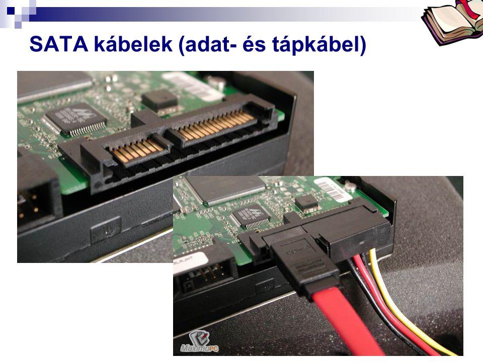 Bóta Laca SATA kábelek (adat- és tápkábel)