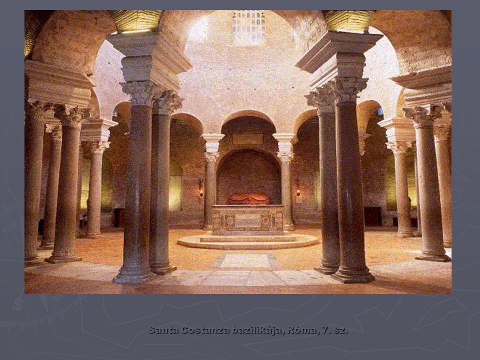 Ókeresztény építészet – a román stílus előzménye bazilika sírkamra