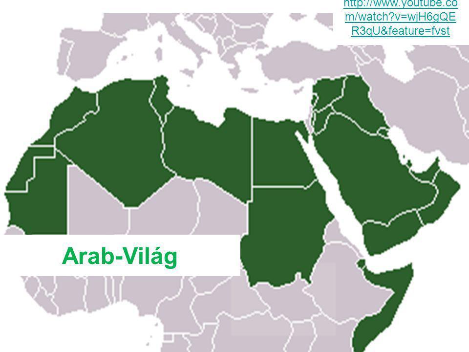 Láthatatlan határok… Észak-Afrika és a Közel-KeletAz arab országok Észak-Afrika és a Közel-Kelet területén találhatóak.