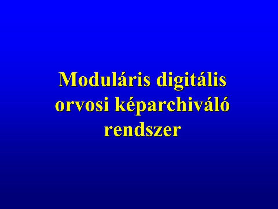 A mai Magyarországon, csak a helyi körülményeket figyelembe vevő, lépcsőzetes hálózatépítésnek van létjogosultsága A radiológiai információs rendszernek függetlennek, ugyanakkor kiszolgálói szinten teljesen kompatibilisnek, ellenőrzötten nyitottnak kell lennie a belső kórházi milliö irányába A teleradiológia vonatkozásában illeszkednünk kell az európai adatvédelmi szabványokhoz Összefoglalás