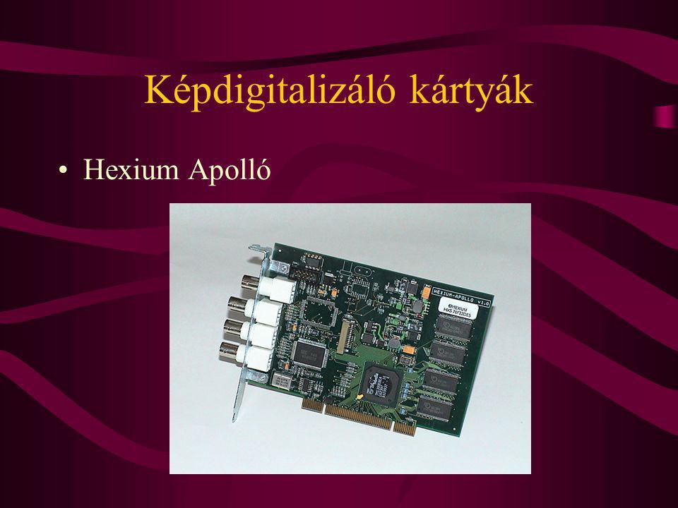 Képdigitalizáló kártyák Hexium Apolló