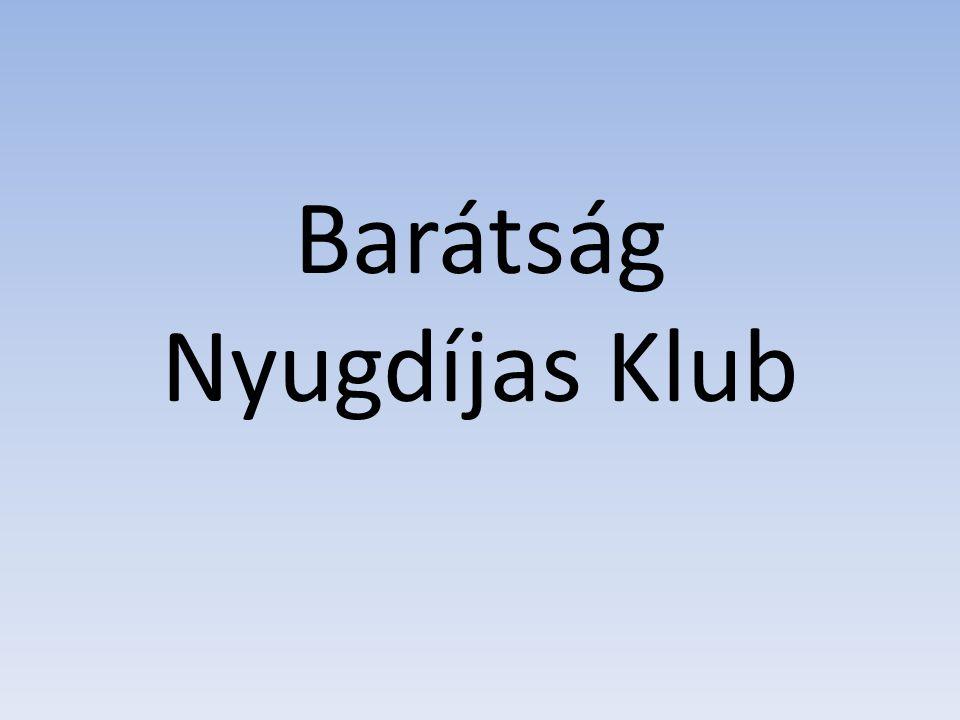 Klubunk 1997 októberében alakult, 89 fővel, jelenleg 13 fő között ingadozik létszámunk.
