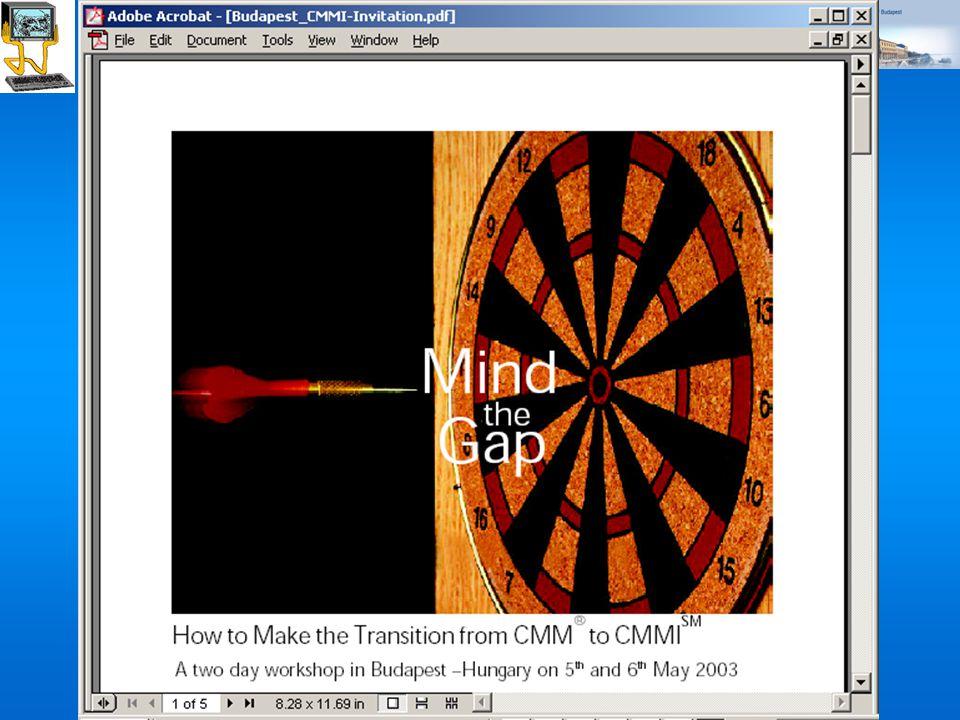 ©Dr. Biró Miklós Budapesti Corvinus Egyetem A szoftvertermék tanúsítás fejlődése, perspektívái (2007) 54 Transition from CMM to CMMI