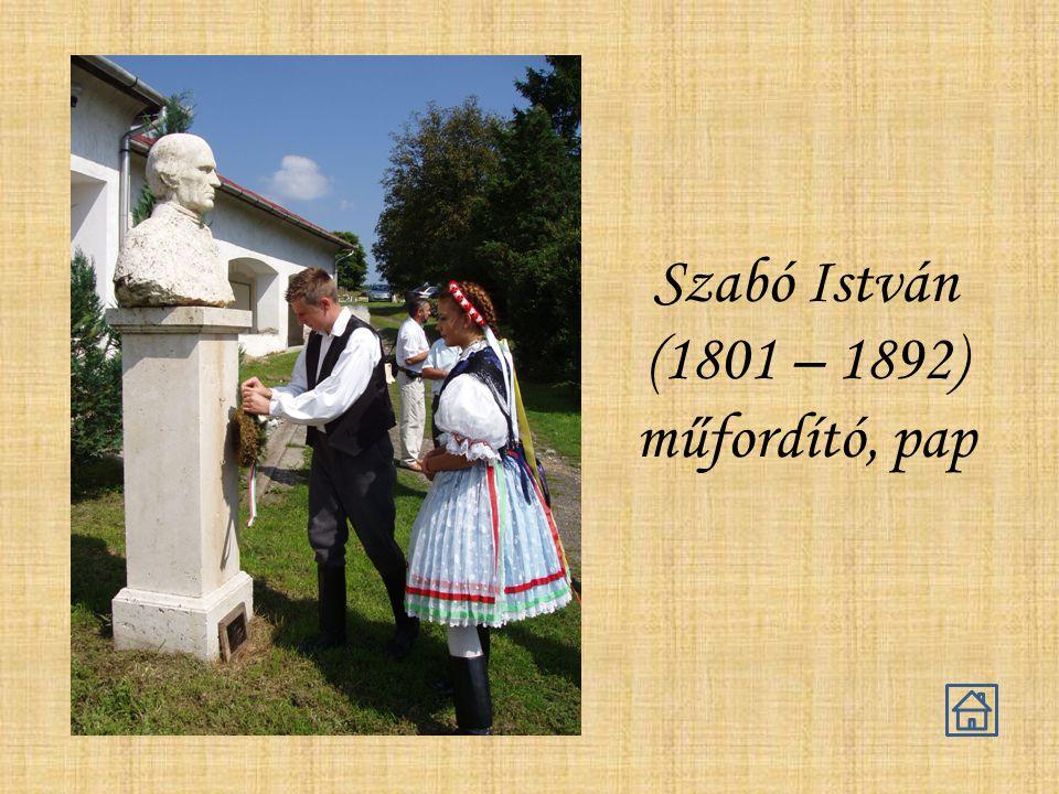 Szabó István (1801 – 1892) műfordító, pap