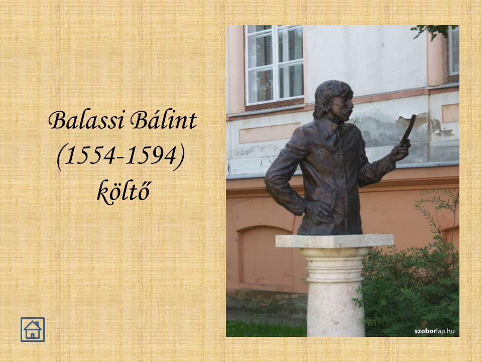 Balassi Bálint (1554-1594) költő