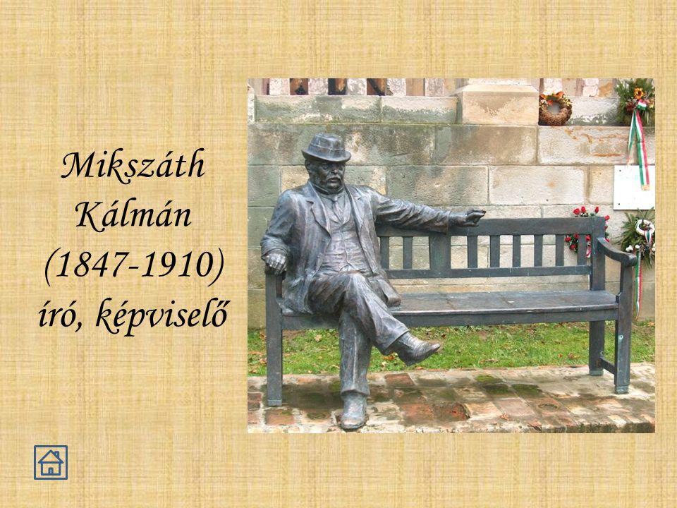 Mikszáth Kálmán (1847-1910) író, képviselő