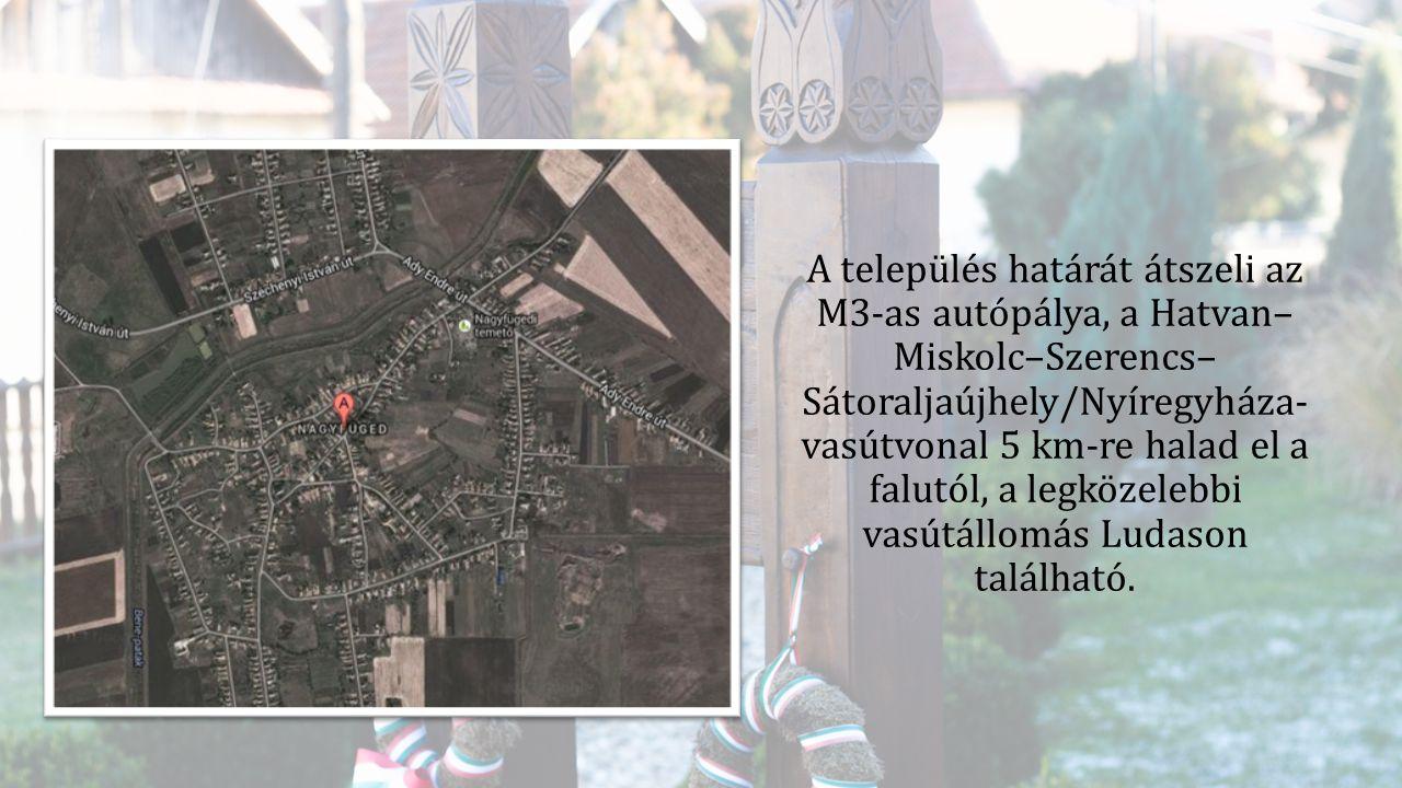 A település határát átszeli az M3-as autópálya, a Hatvan– Miskolc–Szerencs– Sátoraljaújhely/Nyíregyháza- vasútvonal 5 km-re halad el a falutól, a legk