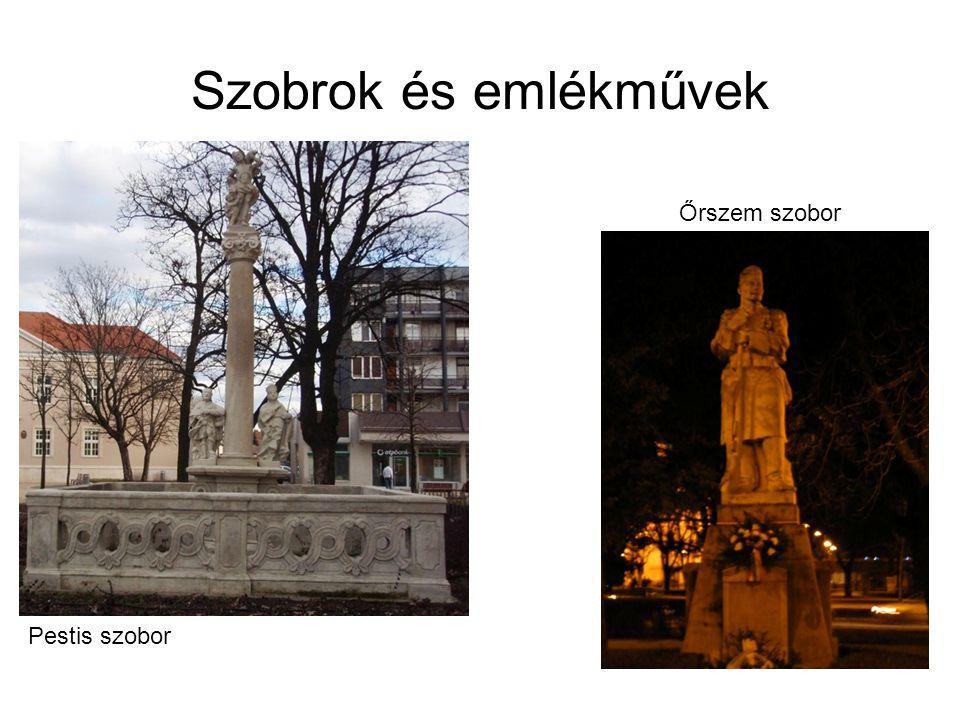 Pestis szobor Őrszem szobor Szobrok és emlékművek