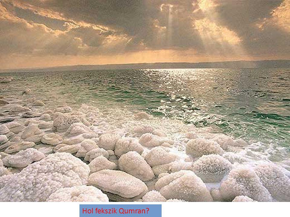 Hol fekszik Qumran?