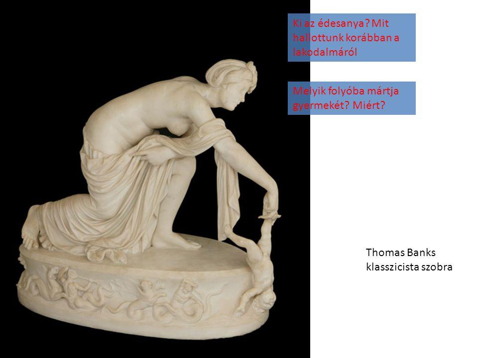 Thomas Banks klasszicista szobra Ki az édesanya.