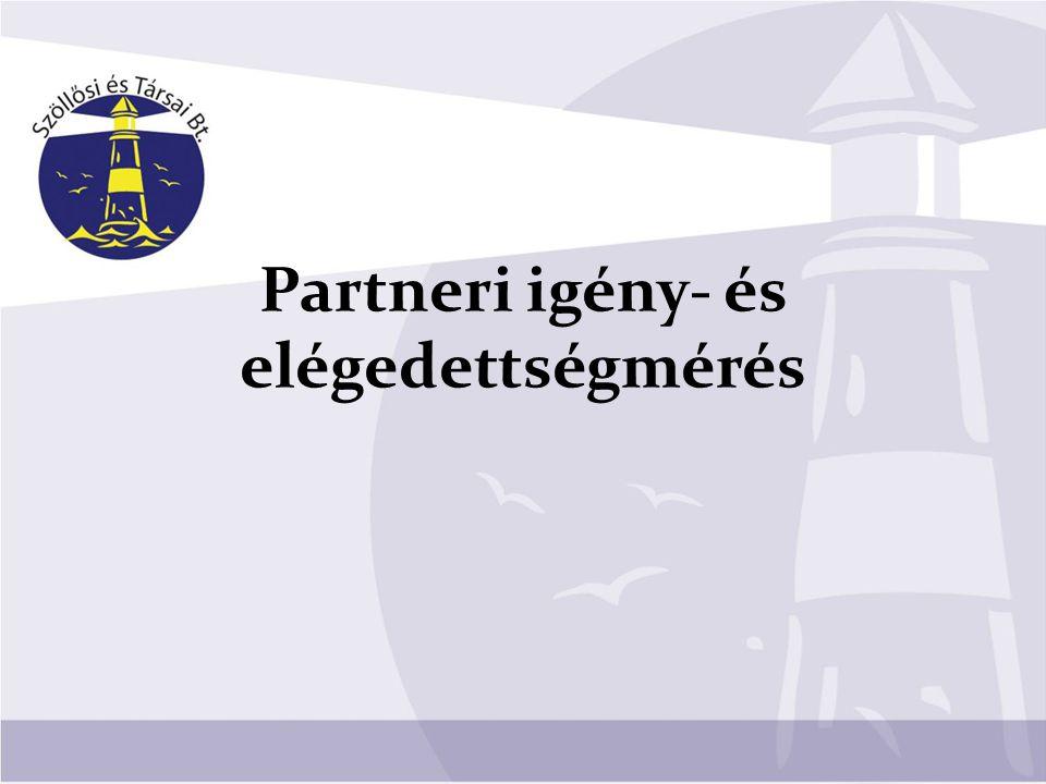 Partneri igény- és elégedettségmérés