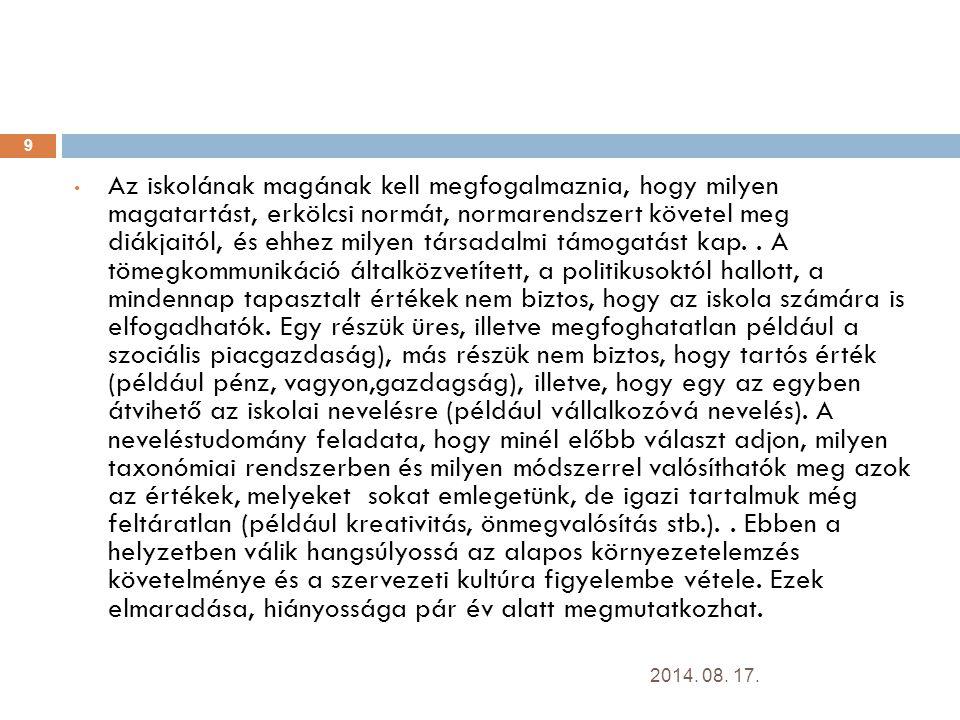 Ajánlott irodalom  A Nemzeti köznevelésről szóló törvény koncepciója (NEMFI honlap)  1993.