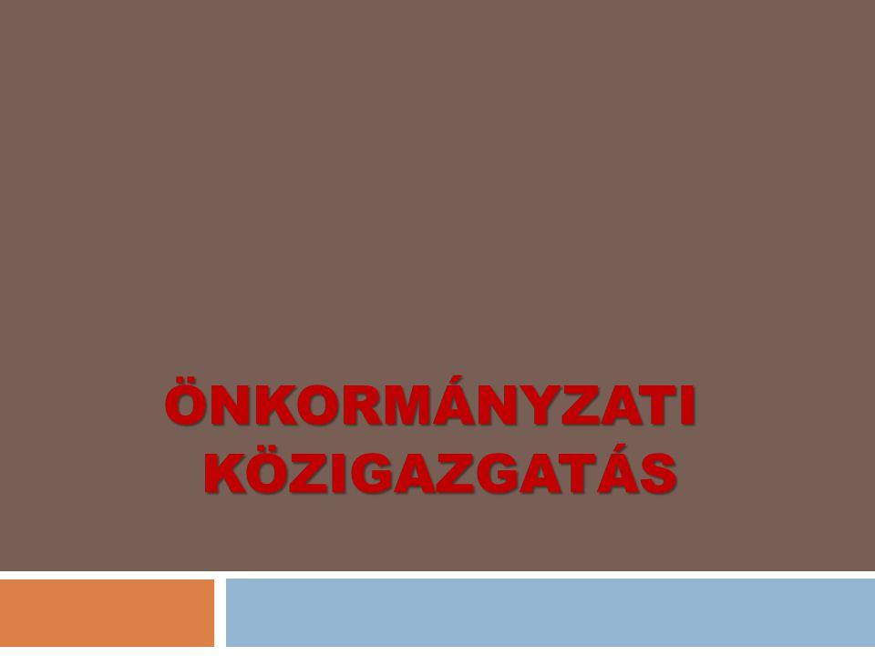 3.2 Kötelező feladatok 22 Törvény állapítja meg:  Önkormányzati törvény;  Más (ágazati) törvények Az Országgyűlés anyagi feltételeiről.