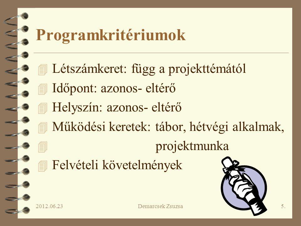 """2012.06.23Demarcsek Zsuzsa6. """"MI csapatépítő tréning: Oláh Gabriella pszichológus vezetésével"""